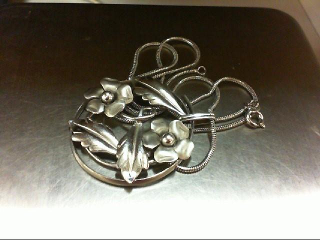 Silver Pendant 925 Silver 9g