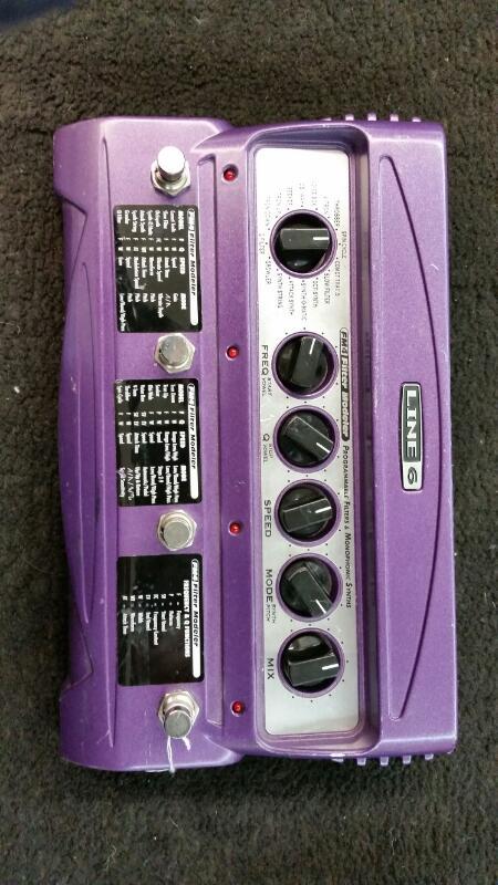 LINE 6 Effect Equipment FM4 FILTER MODELER