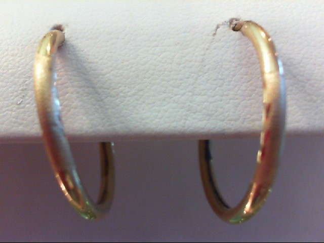Gold Earrings 14K Yellow Gold 1.7g