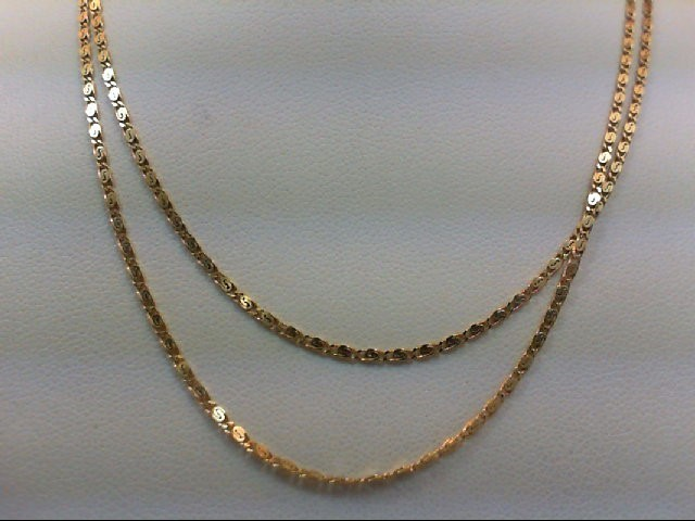 "24"" Gold Fashion Chain 14K Yellow Gold 3.6g"