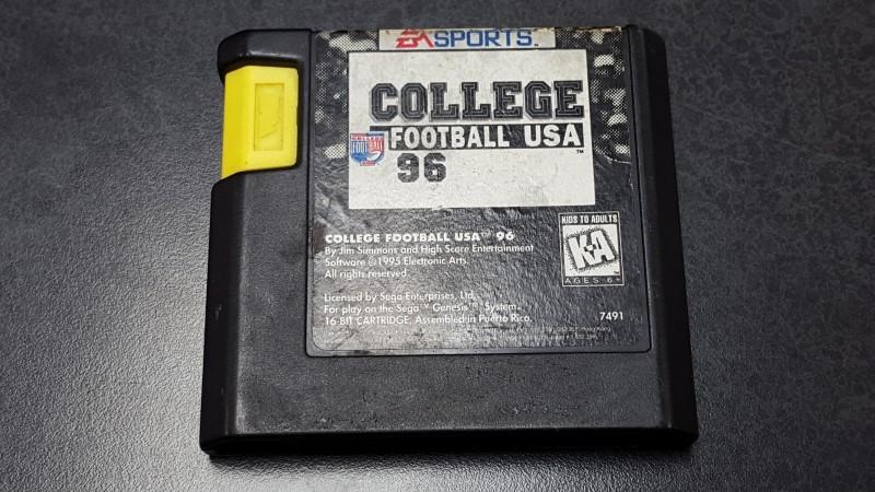 SEGA Sega Game FOOTBALL USA 96