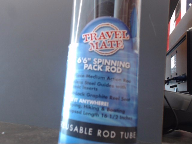 SHAKESPEARE Fishing Pole TRAVEL PACK ROD