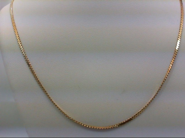 "24"" Gold Chain 14K Yellow Gold 4.4g"