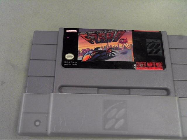 NINTENDO Nintendo NES Game F-ZERO SNES