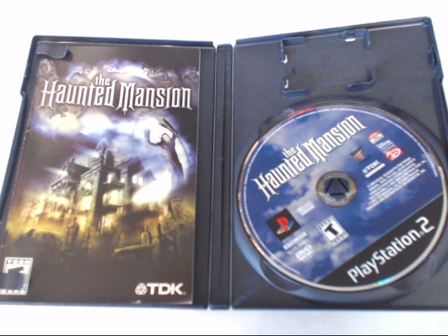 THE HAUNTED MANSION SONY PLAYSTATION 2