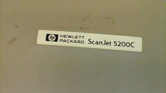 HEWLETT PACKARD SCANJET 5200