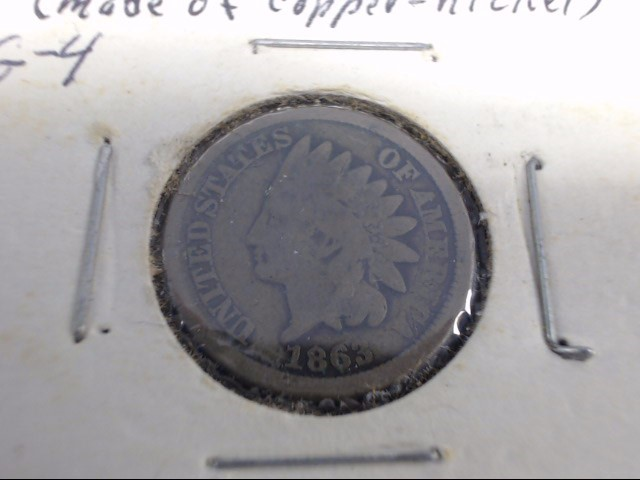1863 INDIAN HEAD PENNY