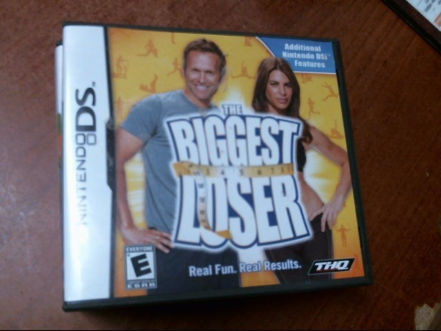 NINTENDO DS GAME: NINTENDO MODEL THE BIGGEST LOSER