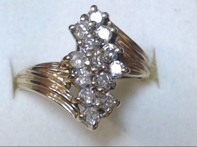 DIAMOND  RING  10K  3.7G  S-8