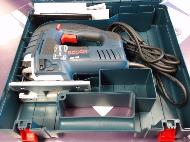 Bosch 7amp Top Handle Jigsaw JS470E