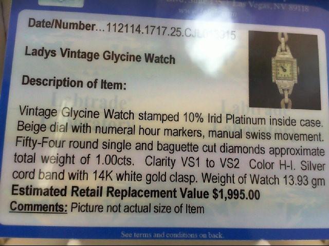 Platinum-Diamond Misc. 54 Diamonds 1.00 Carat T.W. 900 Platinum 13.93g