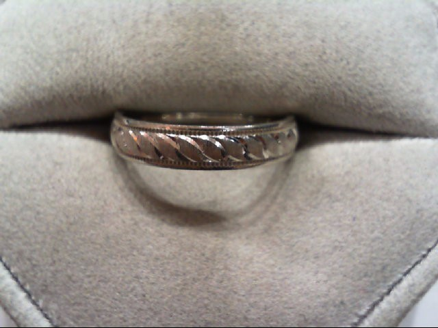 Lady's Silver Wedding Band 925 Silver 3g