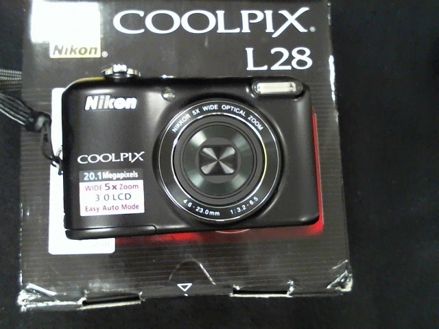 NIKON Digital Camera COOLPIX L28