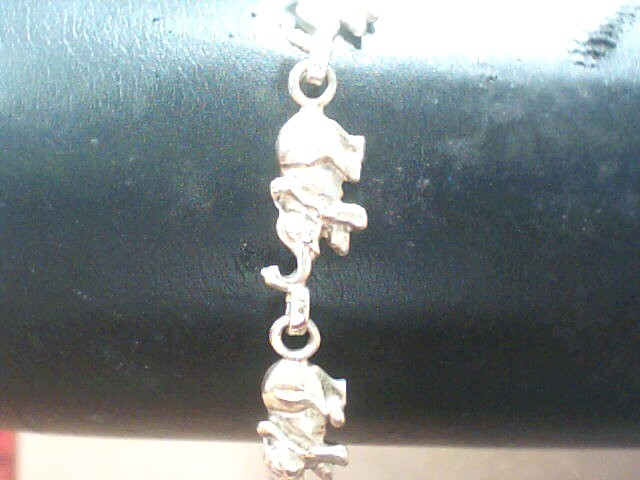 Gold Fashion Bracelet 10K Yellow Gold 4.2dwt