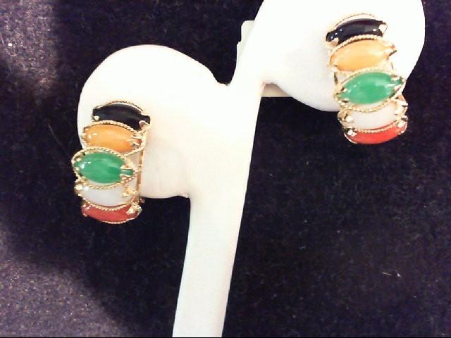 Gold Earrings 14K Yellow Gold 4.7g