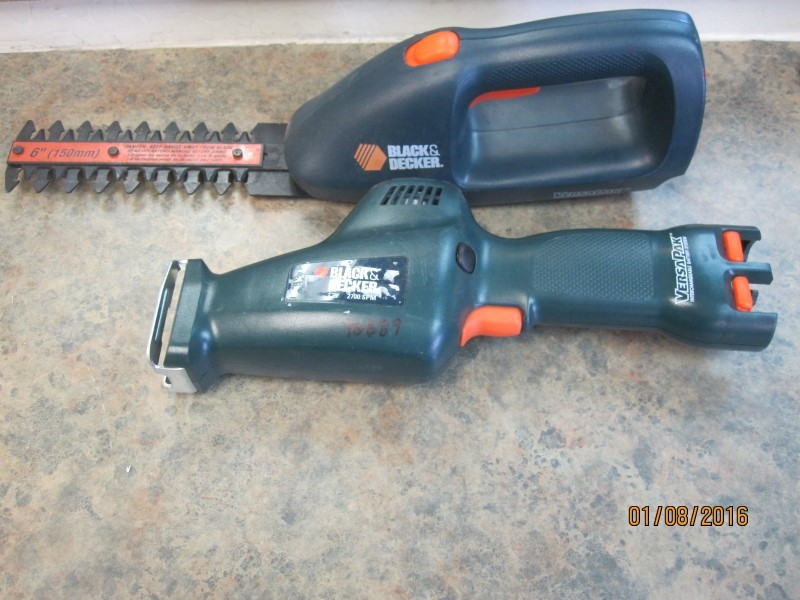 BLACK & DECKER Reciprocating Saw VP650