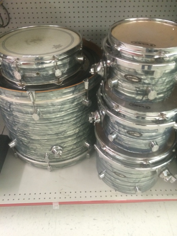 PACIFIC DRUMS AND PERCUSSION Drum Set CX-SERIES