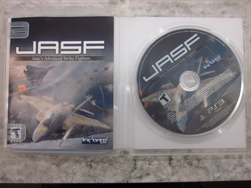 PS3 JASF JANE ADVANCED STRIKE FIGHTER