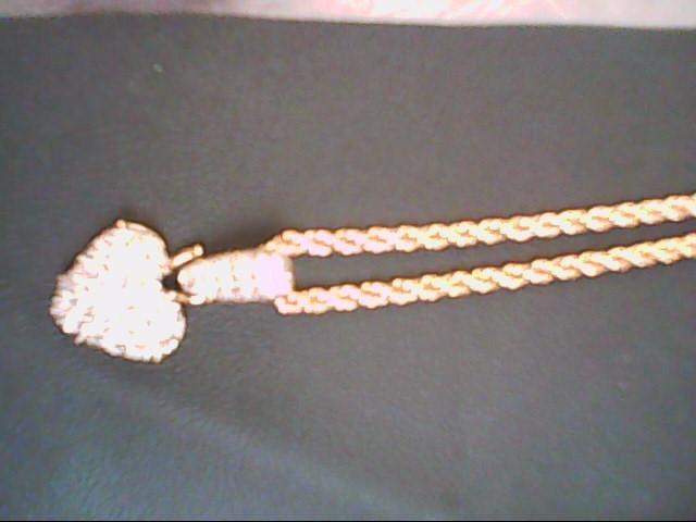 White Stone Stone Necklace Silver Stainless 27.7g