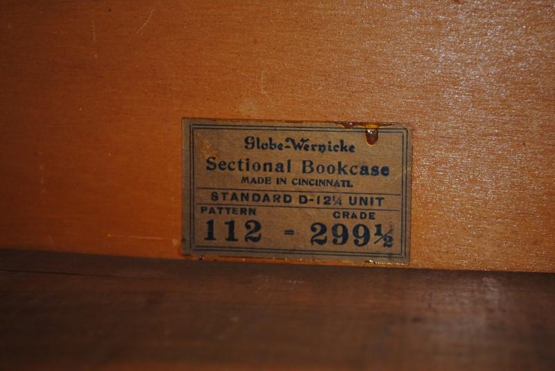 GLOBE WERNIKE GRADE 299 BOOKCASE