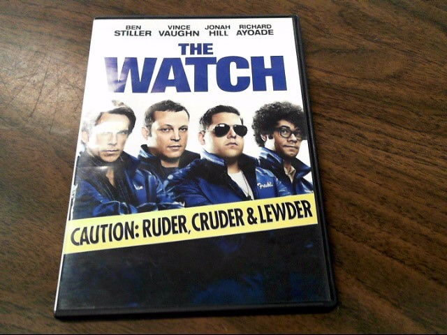 DVD MOVIE DVD THE WATCH