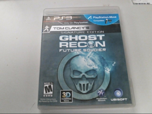 SONY Sony PlayStation 3 Game GHOST RECON FUTURE SOLDIER