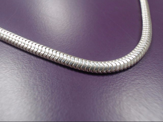 "36"" Silver Chain 999 Silver 38.19g"