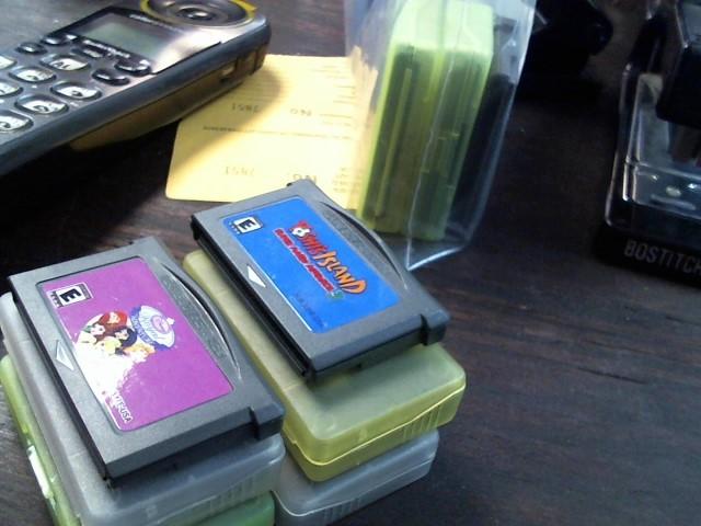 NINTENDO Nintendo GBA GAMEBOY GAMES