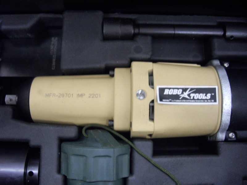 AIRCRAFT DYNAMICS Impact Wrench/Driver ROBOIMPACT 2002-15