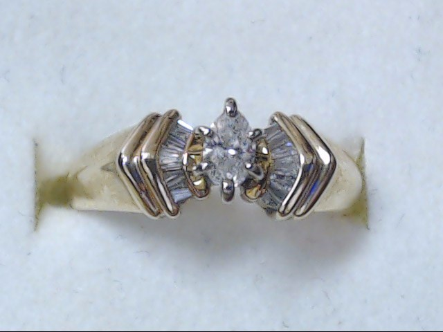 DIAMOND RING JEWELRY, 14KT, 4.00