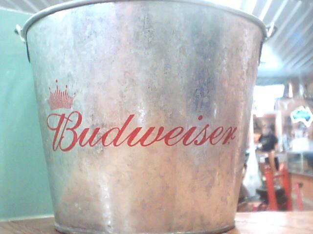 BUDWEISER ICE BUCKET