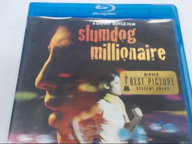 SLUMDOG MILLIONAIRE - BLU-RAY MOVIE