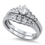 Lady's Silver Ring 925 Silver 4.3g Size:9