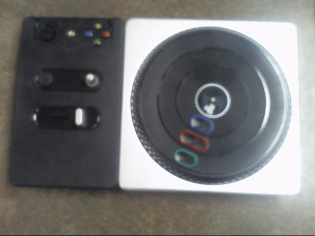 MICROSOFT Microsoft XBOX 360 Game DJ HERO TRUNTABLE CONTROLLER