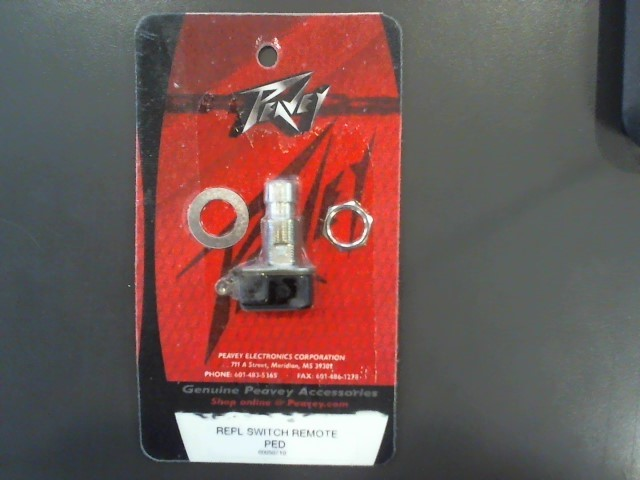 PEAVEY Electronic Instrument REPL SWITCH REMOTE PED 00050710