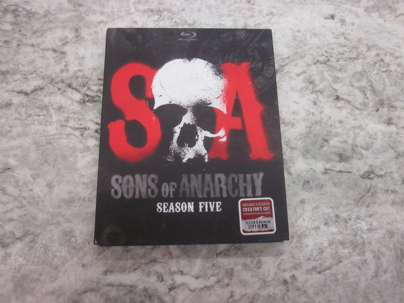 BLU-RAY SONS OF ANARCHY SEASON 5