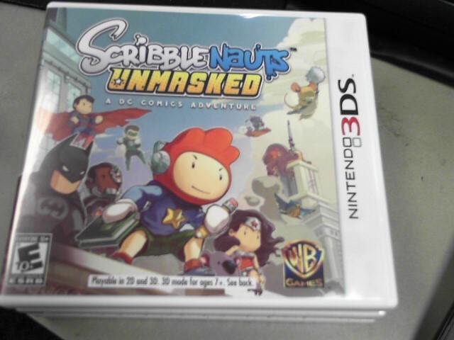 NINTENDO Nintendo 3DS SCRIBBLENAUTS UNMASKED