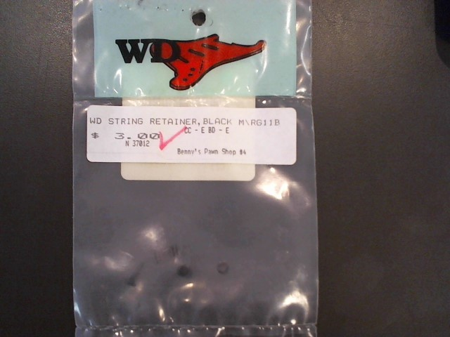 WD STRING RETAINER,BLACK M\RG11B