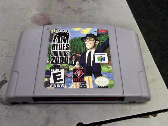 NINTENDO Nintendo 64 BLUES BROTHERS 2000 64