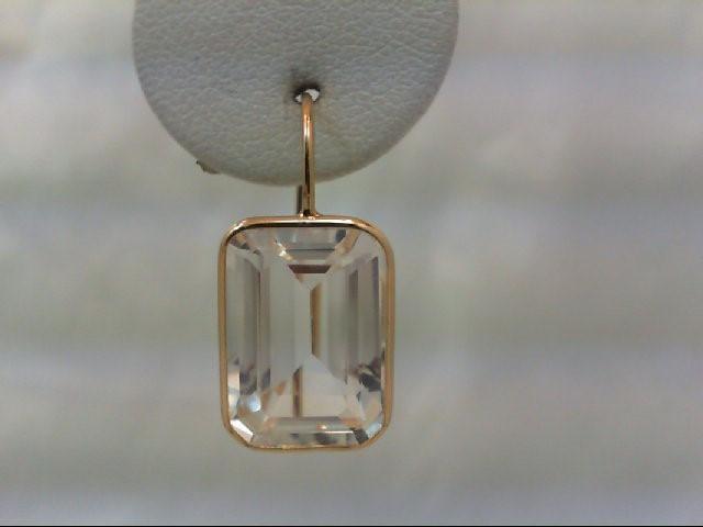 Gold Earrings 14K Yellow Gold 4.6g