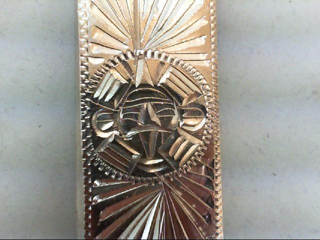 STRAP MONEY CLIP NICKEL/COIN SILVER & S925 27.2G Silver-Misc. 925 Silver 27.2g