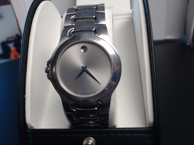 Movado 84 G1 1898 Musem Men's Silver Dial Stainless Mens Wristwatch