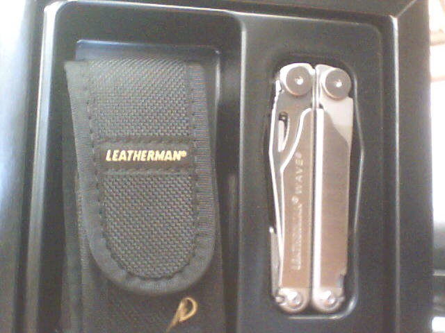 LEATHERMAN Pocket Knife WAVE
