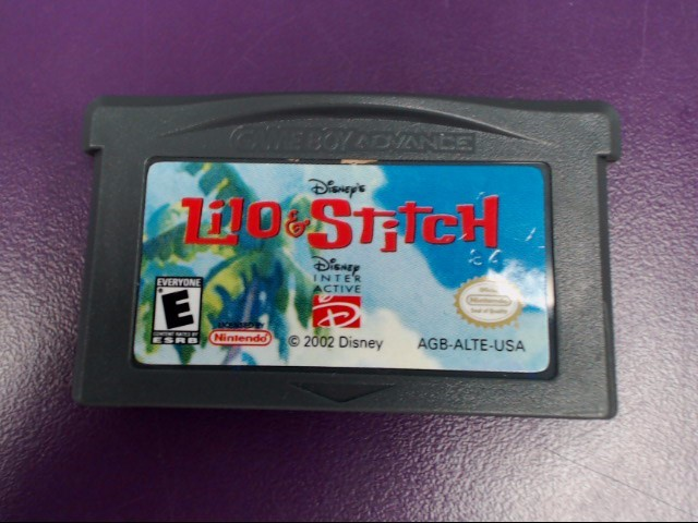 LILO & STITCH-Nintendo GAME BOY Advance