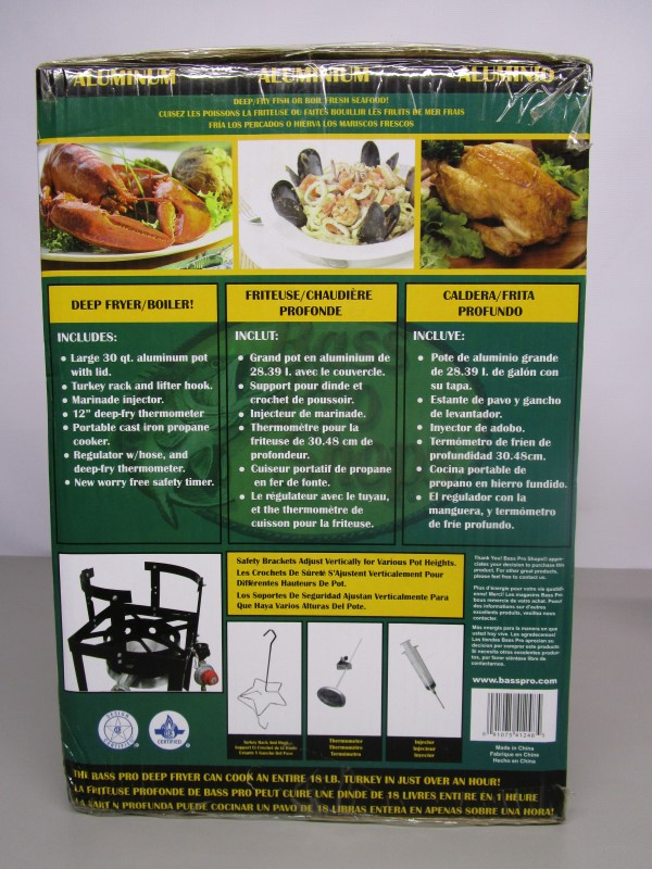 BASS PRO SHOP Grill DEEP FRY KIT S DEEP FRY KIT