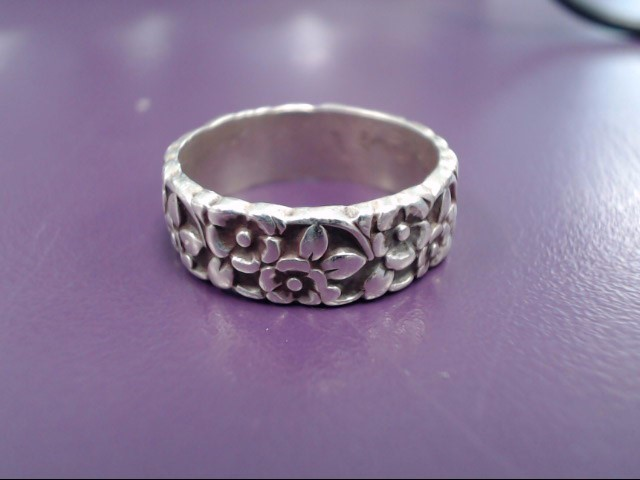 Lady's Silver Ring 925 Silver 4.3g Size:6.5