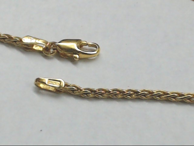 "18"" Gold Chain 14K Yellow Gold 6.4g"
