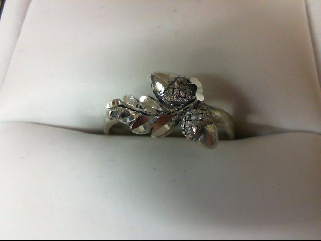 Lady's Silver Ring 925 Silver 1.6g Size:6