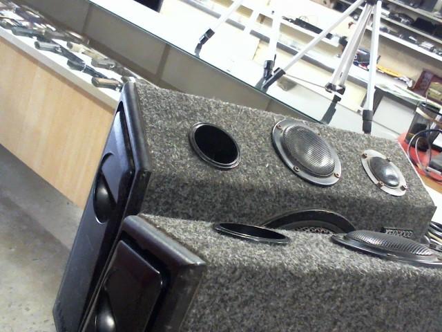 Antique KENWOOD Car Speakers/Speaker System KSC-9902