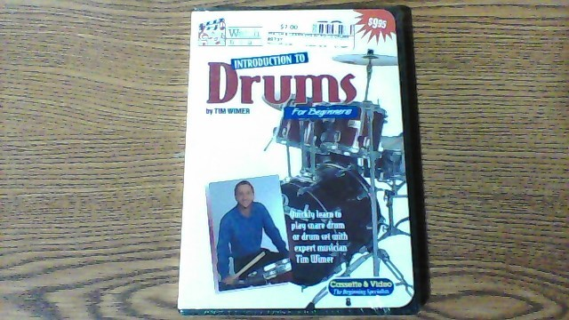 WATCH & LEARN DVD INTRO TO DRUMS